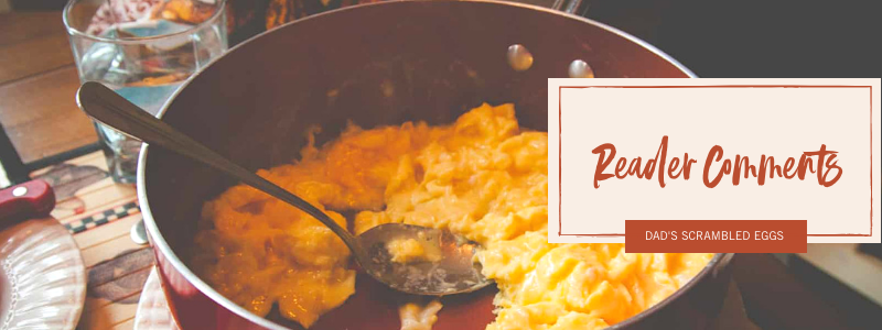 An awesome scrambled eggs recipe